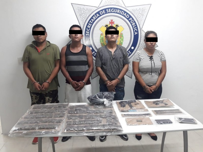 Capturan a presuntos integrantes de bandas delictivas