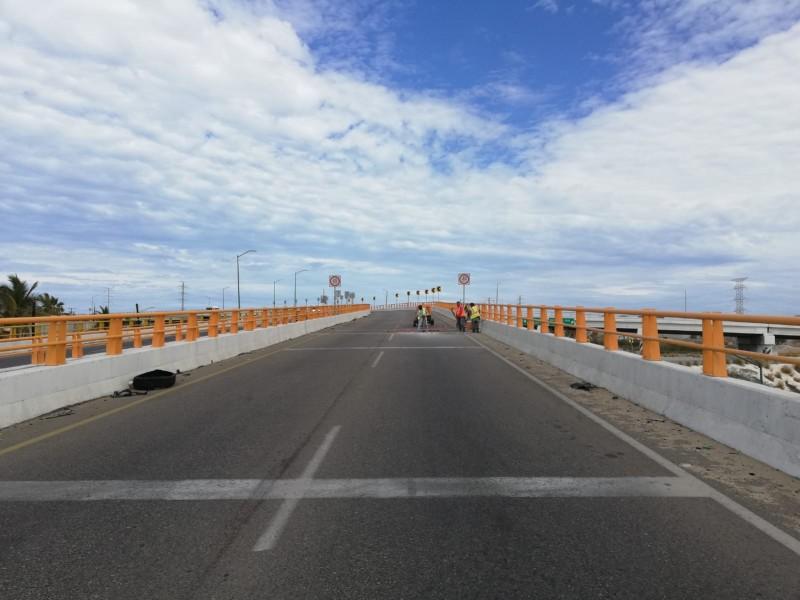 Capufe rehabilita puente del libramiento carretero