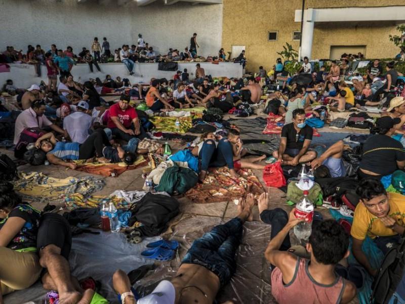 Caravana migrante cancela trayecto de este domingo
