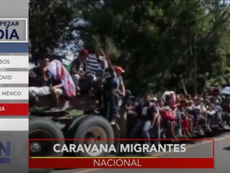Caravana migrante no transitará por México, asegura gobierno