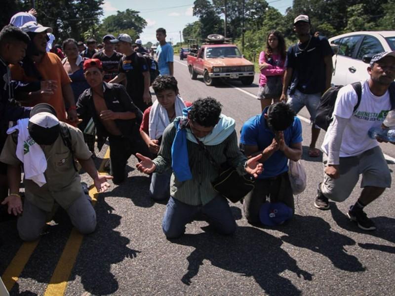Caravana Migrante se dirige a Arriaga, Chiapas