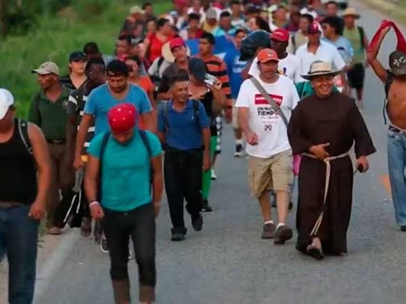 Caravana migrante tendrá trato digno en CDMX: PRD