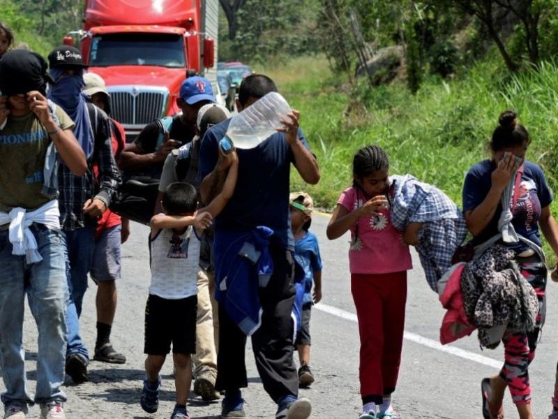 Caravanas son una realidad, no un invento: Segob