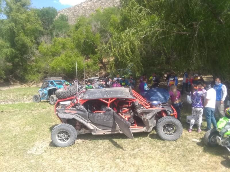Cárcel para racers y ciudadanos que visiten Cañón de Fernández