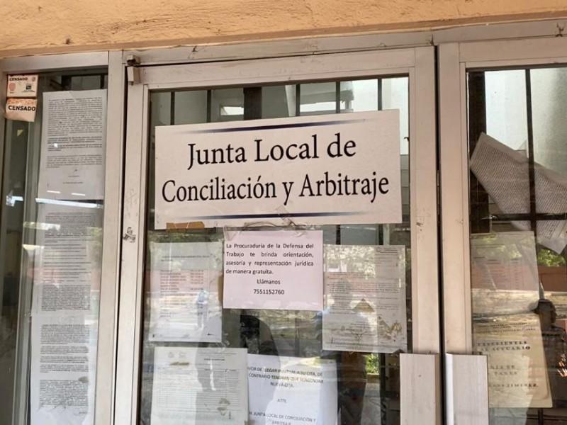 Carencias en Juntas Locales de Conciliación propician