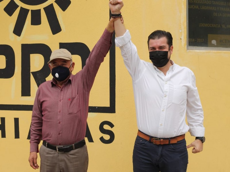 Carlos Penagos como candidato a diputación local por Tuxtla: PRD