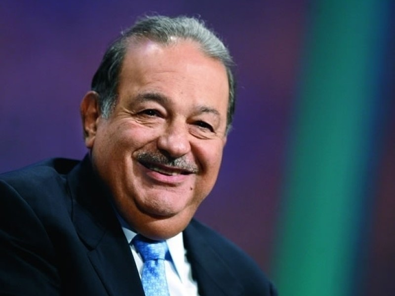 Carlos Slim es el 16º multimillonario en todo el mundo