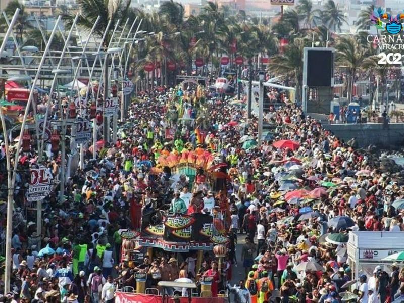Carnaval de Veracruz 2022 podría ser presencial