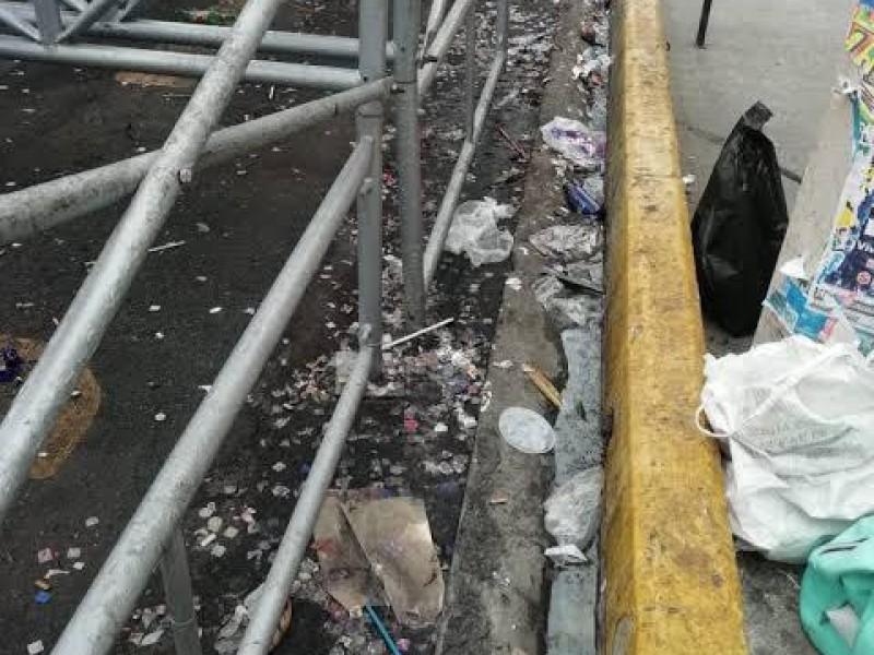 Carnaval genera 400 toneladas de basura diarias