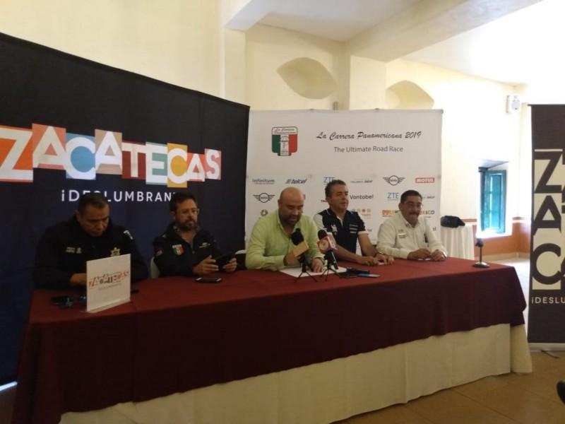 Carrera Panamericana pasará por Zacatecas