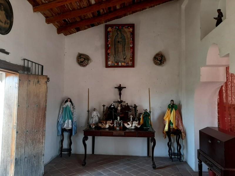 Casa Shunashi suspende veneración masiva a la virgen de Guadalupe