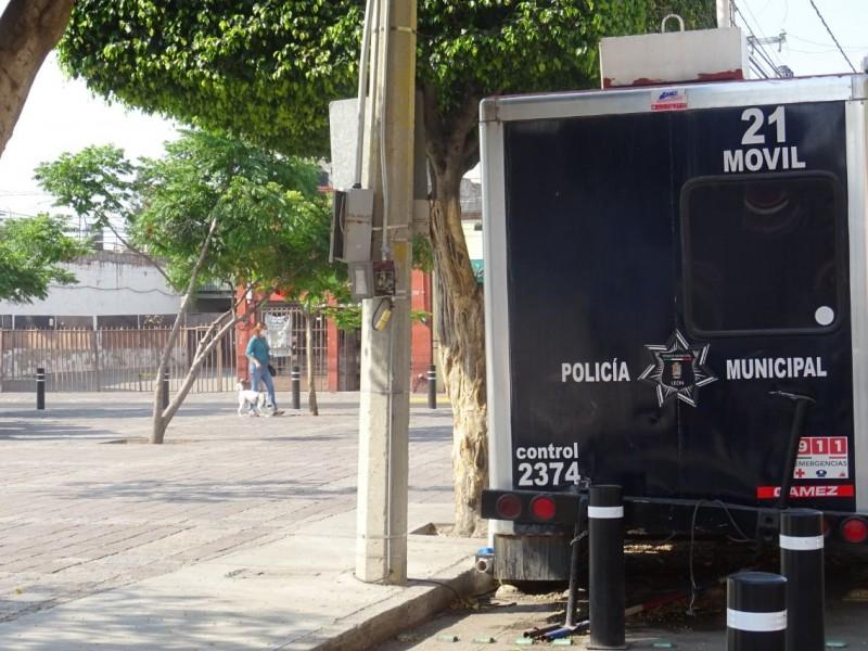 Caseta móviles de policía, altamente vulnerables