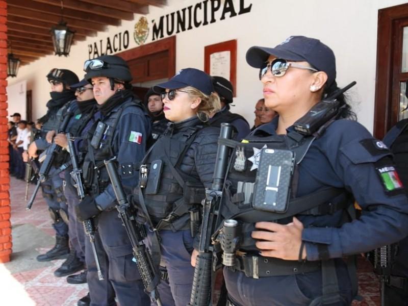 Casi 200 policías protegen a candidatos a gobernador en Michoacán
