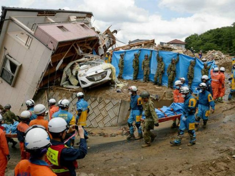 Catástrofe en Japón deja 112 muertos