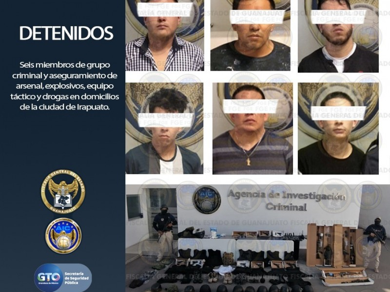 Catean casas de seguridad en Irapuato
