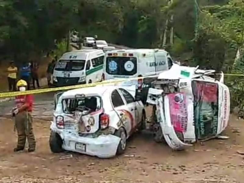 Causa accidente aparatoso colectivo sin frenos