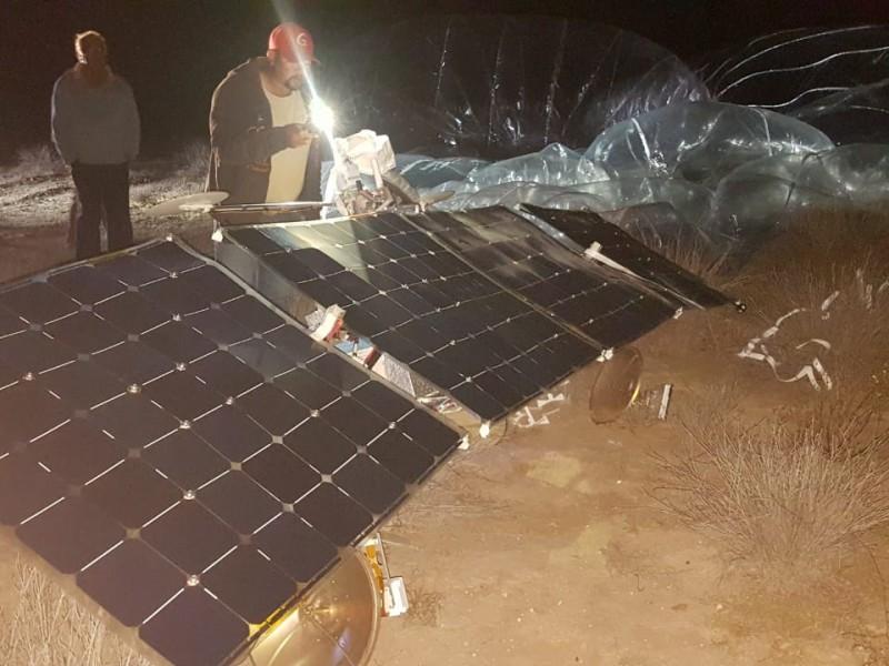 Cayó satélite en Comondú BCS
