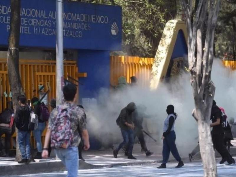 CCH Azcapotzalco vuelve a sufrir violencia y paros
