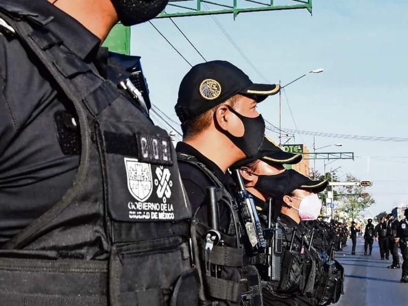 CDMX. 18 mil 856 policías vigilarán los comicios electorales