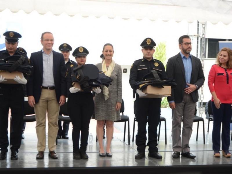 CDMX impedirá abusos contra policía y ciudadanía