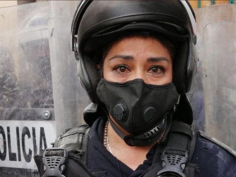 CDMX: Pintas y destrozos en macha por despenalización del aborto