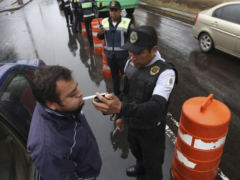 CDMX quitará licencias a quienes conduzcan ebrios o drogados