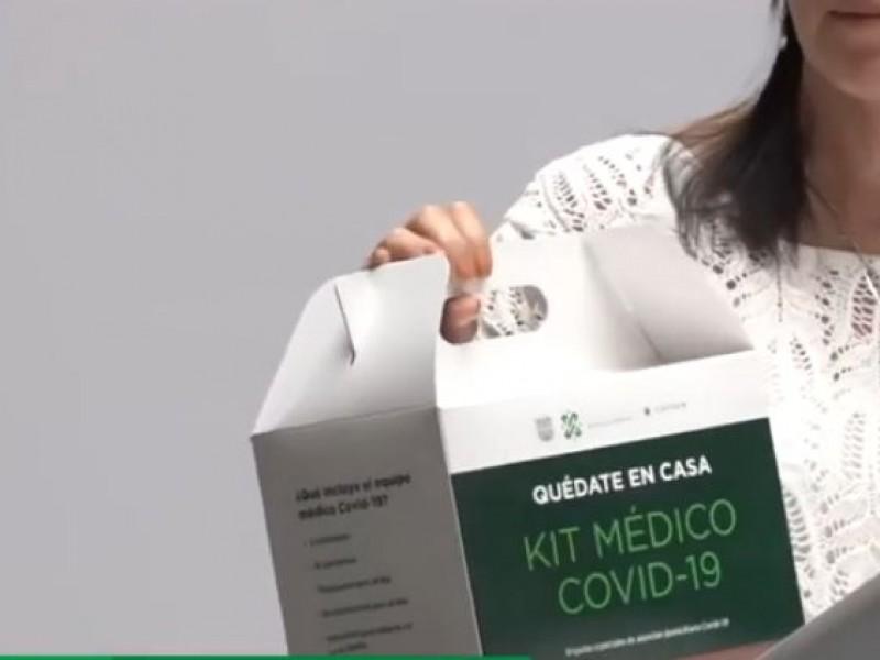 CDMX repartirá kits a pacientes con Covid-19