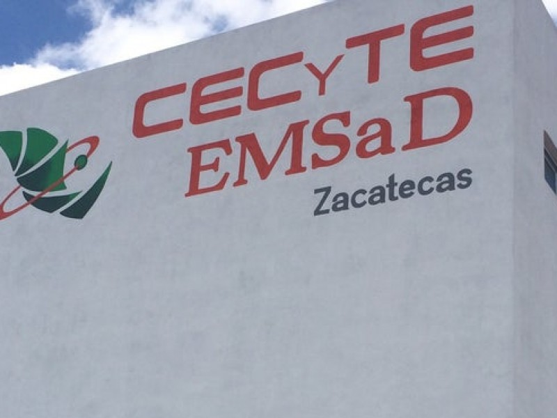 Cecyte Zacatecas se une a paro nacional