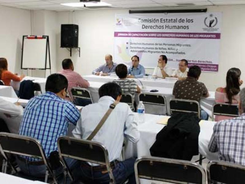 CEDH: LA violencia se erradica con la participación social