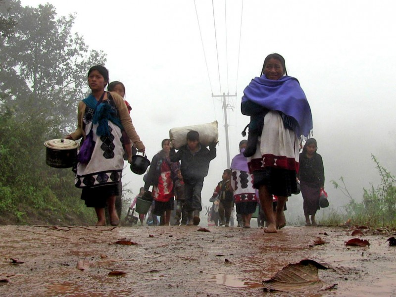 CEDH realizará informe de desplazamientos forzados