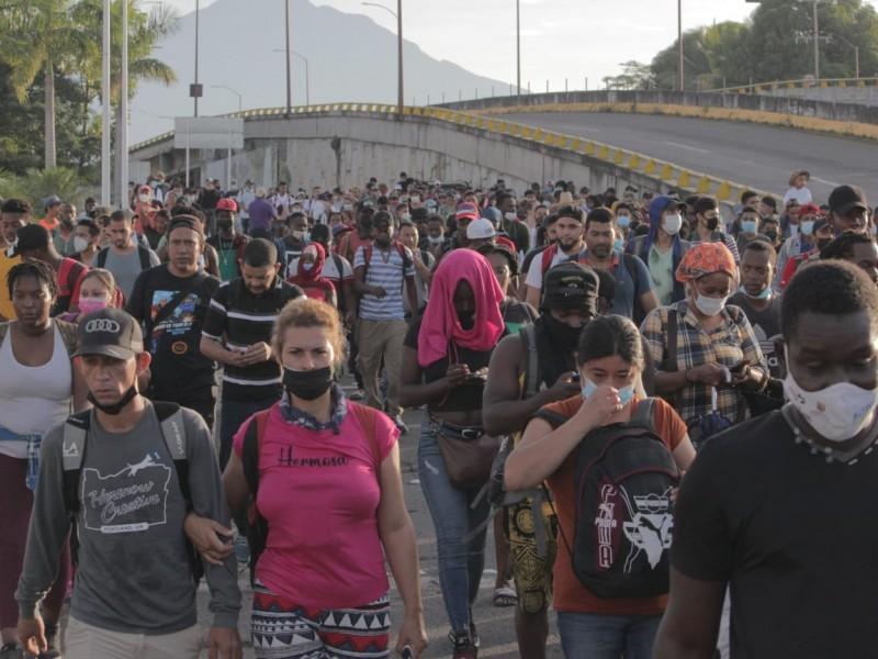 CEDH reconoce que autoridades están rebasadas en atención a migrantes
