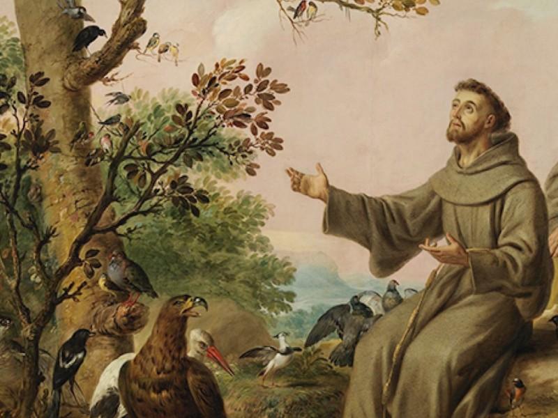 Celebra comunidad católica el día de San Francisco de Asís