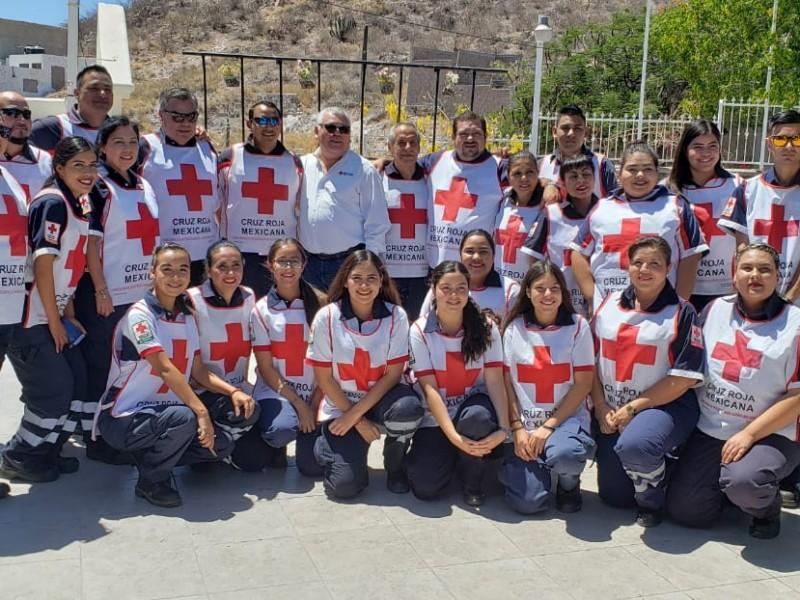 Celebra Cruz Roja Guaymas, día del socorrista