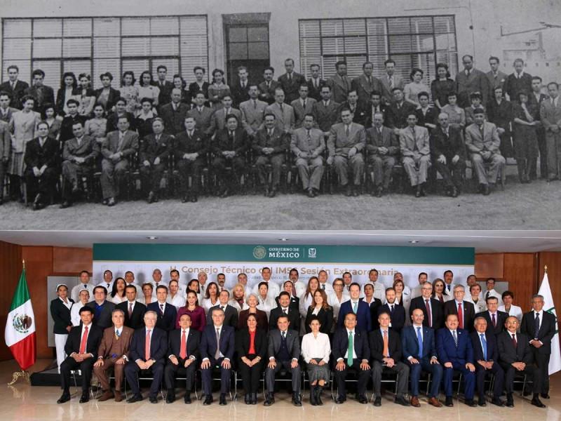 Celebra IMSS por 77 años de atención medica