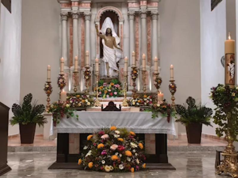 Celebra la iglesia católica la Pascua de Resurrección
