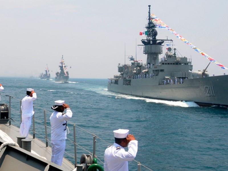 Celebra México el día de la marina