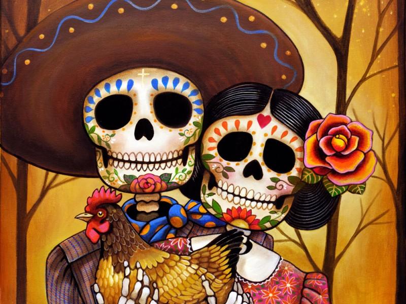Celebraciones por Día de Muertos en CDMX