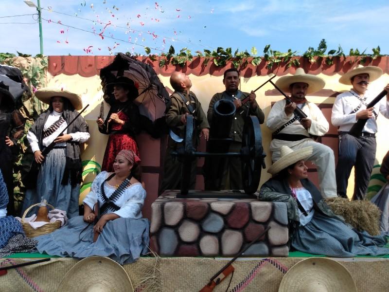 Celebran 109 aniversario de la revolución mexicana