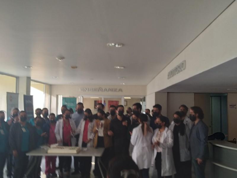 Celebran día del Médico en Hospital de alta especialidad