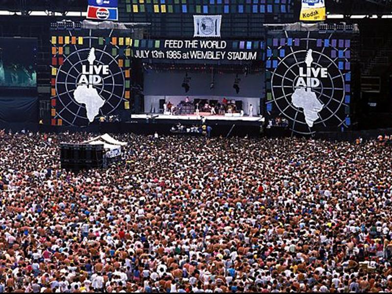 Celebran el día mundial del rock en conmemoración del LiveAid