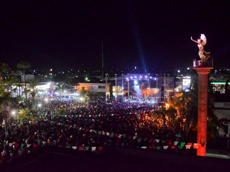 Celebran el grito de independencia en Navojoa