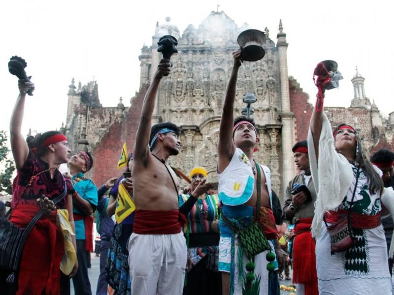 Celebran el inicio del Año Nuevo mexica