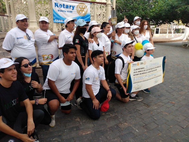 Celebran en Guaymas centenario de Club Rotario en México