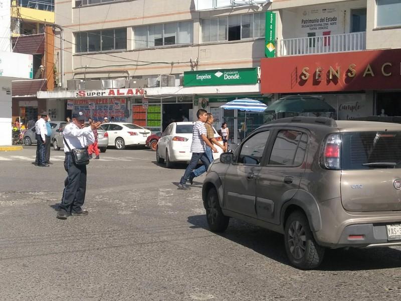 Celebran en Tuxpan Día del Agente de Tránsito