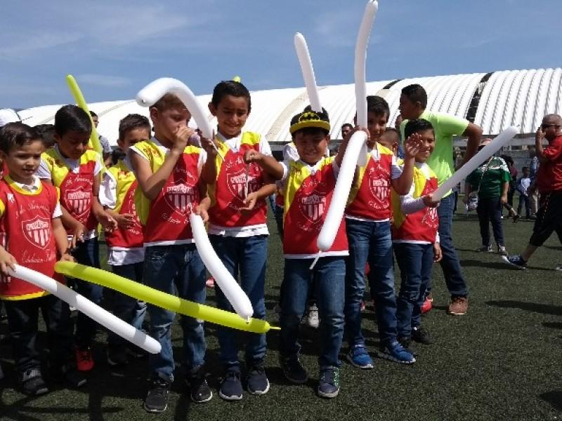 Celebran inauguración del torneo al Agua Patos