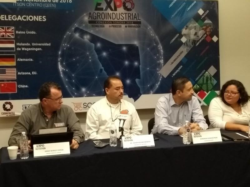 Celebrarán Expo Agroindustrial-Alimentario
