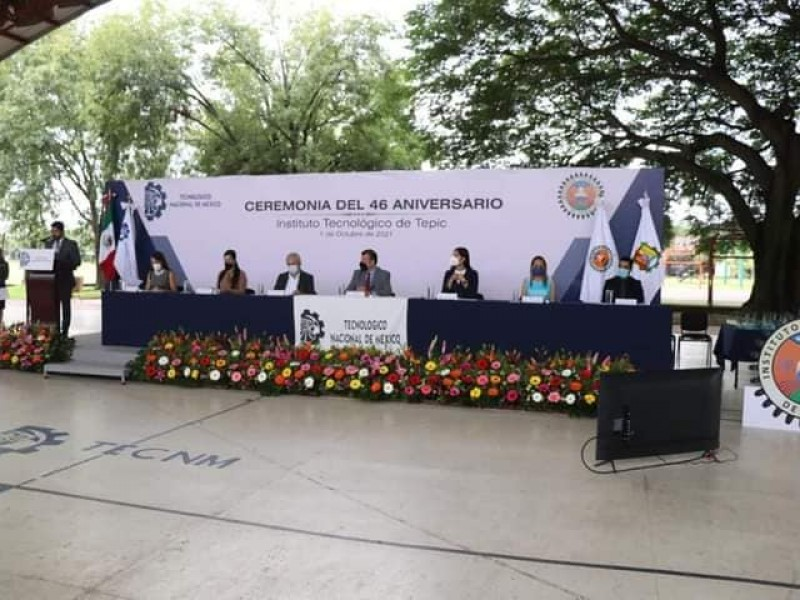 Celebró Tecnológico de Tepic su 46 aniversario
