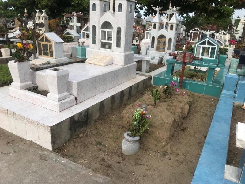 Cementerio municipal de Veracruz, sin espacios para entierros