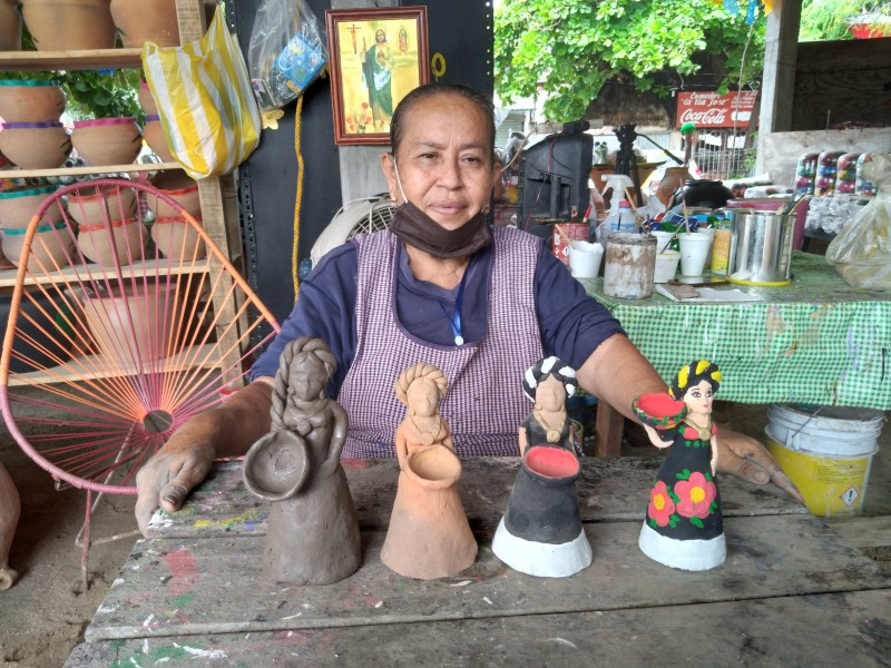 Cenobia Carreño; la última alfarera de Santo Domingo Tehuantepec