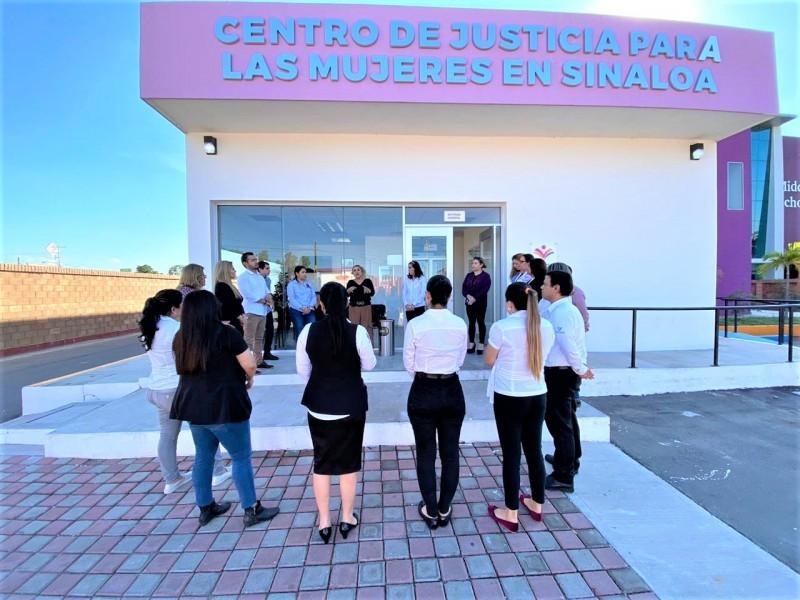 Centro de Justicia para Mujeres en Sinaloa sigue trabajando